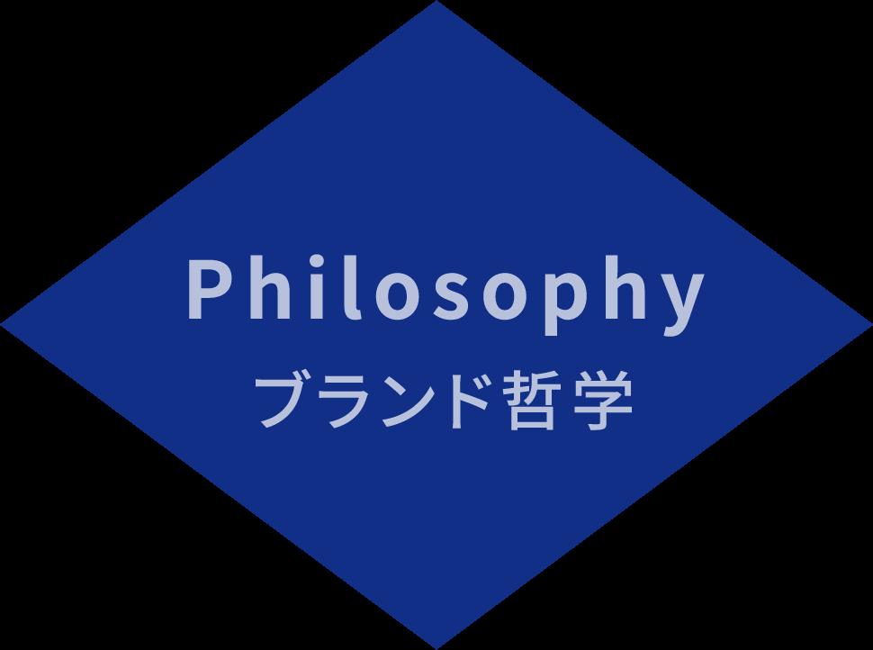 Philosophy ブランド哲学